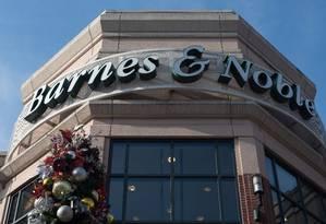 Barnes & Noble: venda após declínio diante da Amazon. Foto: MARI MATSURI / AFP