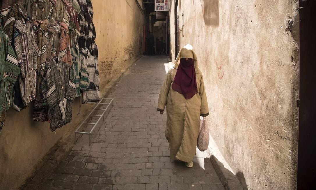 Fez tem uma das medinas mais preservadas do país e declarada patrimônio da Humanidade pela Unesco desde 1981 Foto: FADEL SENNA / AFP