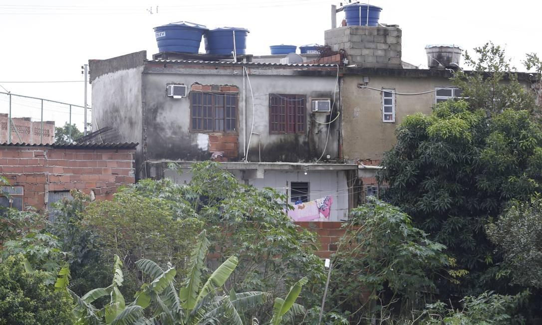 Cômodo destruído em 2017 foi reconstruído ilegalmente. Foto: Fábio Guimarães / Agência O Globo