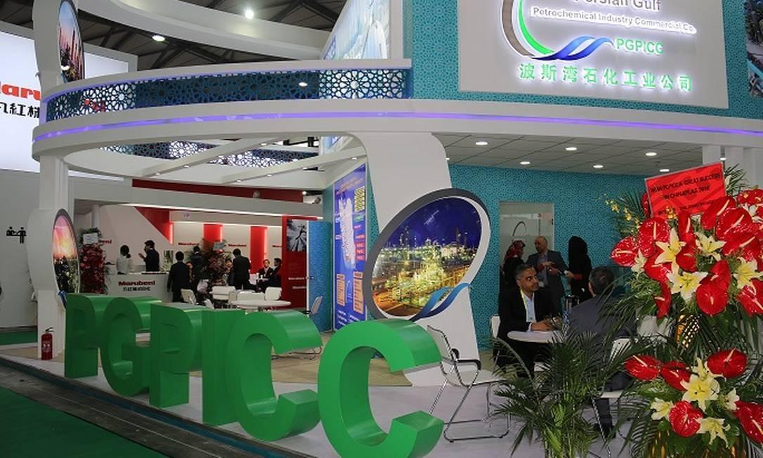 Os Estados Unidos anunciaram sanções econômicas contra a Persian Gulf Petrochemical Industries Company (PGPIC) Foto: Divulgação