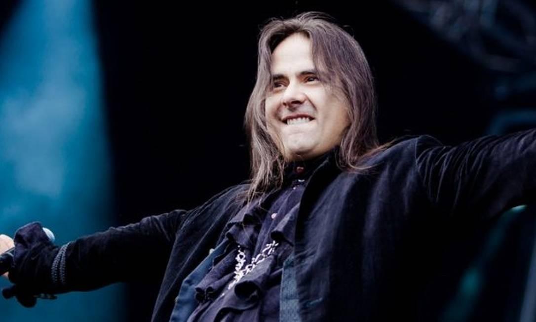 André Matos. Cantor deixa a comunidade do heavy metal de luto ao se despedir da vida precocemente, aos 47 anos Foto: Reprodução