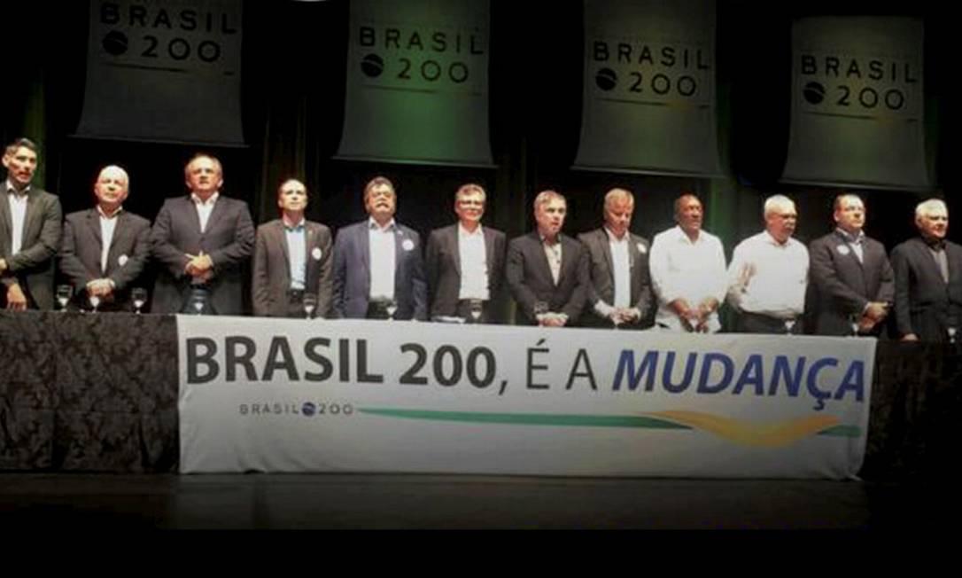 Empresários participam de evento do Brasil 200, que dará selos a candidatos nas eleições de 2020 Foto: Divulgação / Agência O Globo