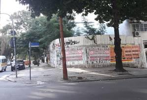 Cabral disse ser dono da metade de um terreno localizado em Ipanema Foto: Juliana Castro