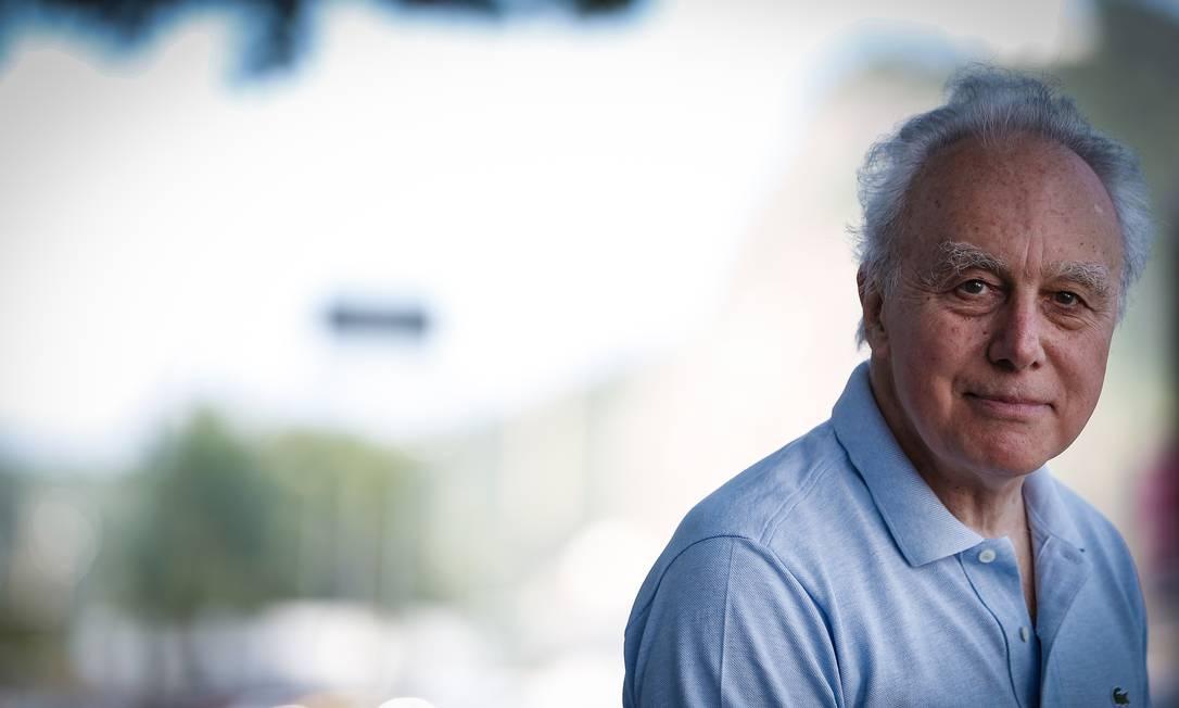 O economista italiano Francesco Giavazzi Foto: Roberto Moreyra / Agência O Globo