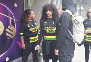 Cedella Marley marca presença em jogo da Jamaica Foto: Tatiana Furtado