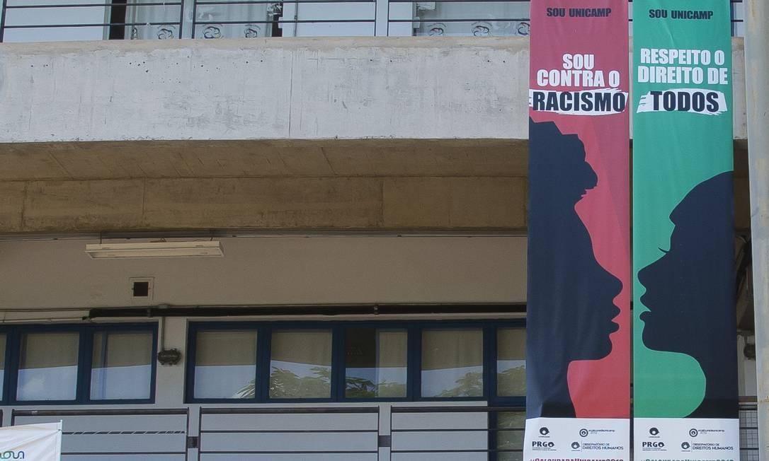O reitor da Unicamp, Marcelo Knobel, diz que já encaminhou as suspeitas para a Procuradoria-Geral da universidade Foto: Edilson Dantas / Agência O Globo