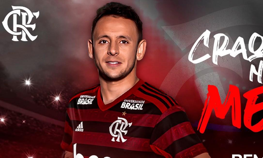 Rafinha é o novo jogador do Flamengo Foto: Reprodução/Twitter