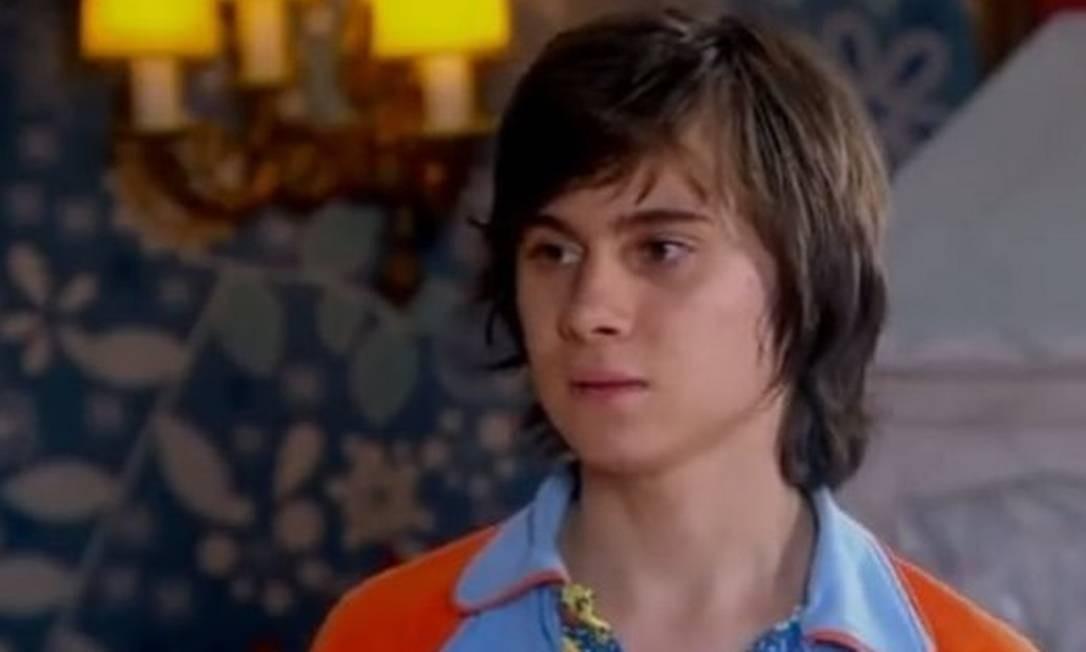 Rafael Miguel interpretou o personagem Paçoca no remake na novela mirim Chiquititas, do SBT Foto: Reprodução/Instagram