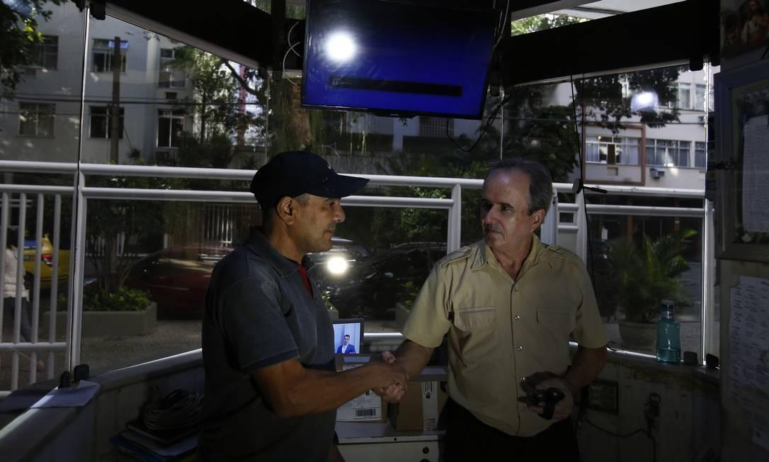 Mosquito, ou Muriçoca, foi porteiro por 34 anos de um prédio em Ipanema Foto: Antonio Scorza / Agência O Globo