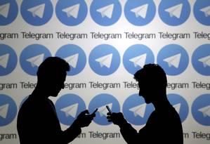 Aplicativo de mensagens Telegram já promoveu desafios Foto: DADO RUVIC / Reuters