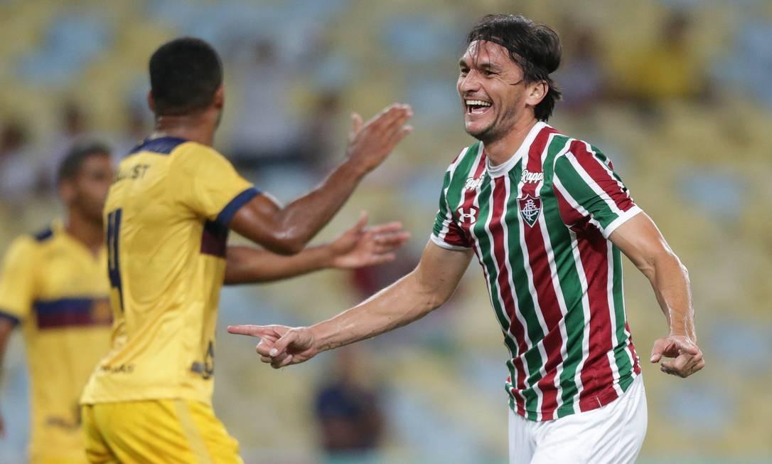 Matheus Ferraz pode desfalcar Fluminense por oito meses Foto: Marcio Alves / Agência O Globo