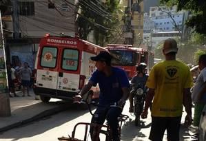 Bombeiros foram acionados para ocorrência no Itanhangá Foto: Reprodução