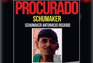 Bandido foi morto este ano durante disputa do tráfico em favelas do município de São Gonçalo Foto: Divulgação