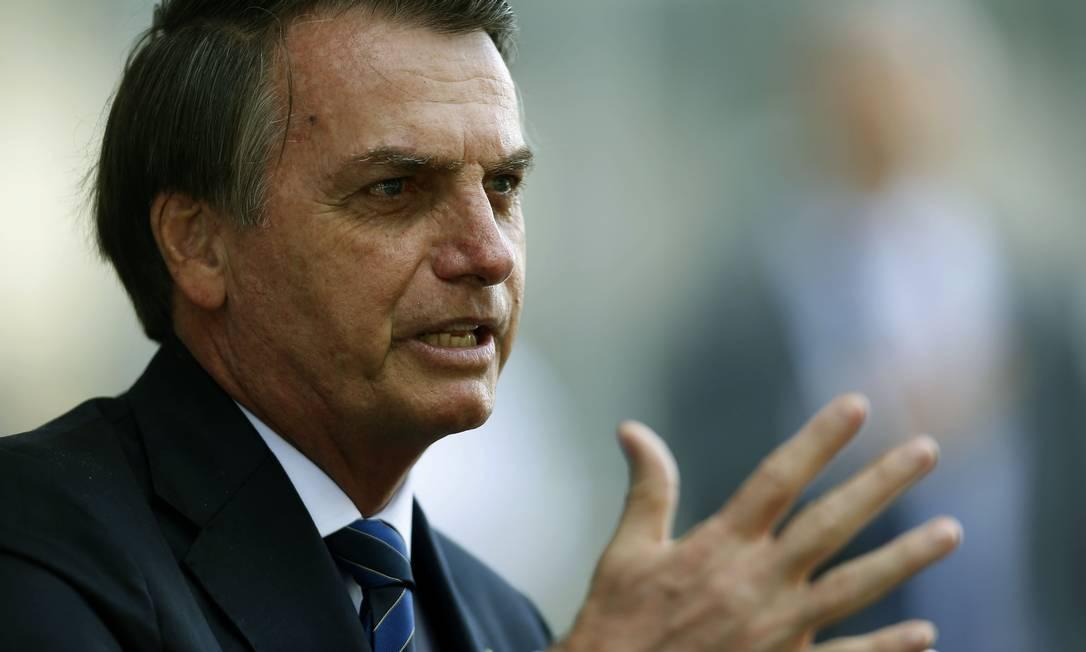 O presidente Jair Bolsonaro foi denunciado à ONU pela segunda vez desde o início do mandato Foto: Jorge William / Agência O Globo