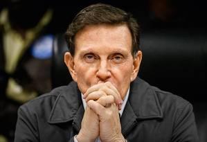 Crivella: adversários já discutem sucessão na prefeitura Foto: Antonio Scorza / Agência O Globo