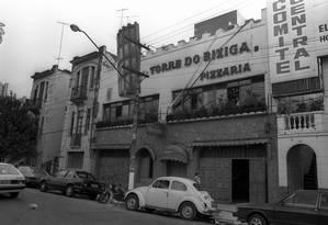 Bairro do Bexiga, em São Paulo, em 1986: muitos italianos se estabeleceram na região Foto: Antonio Luiz Silva/24-5-1986