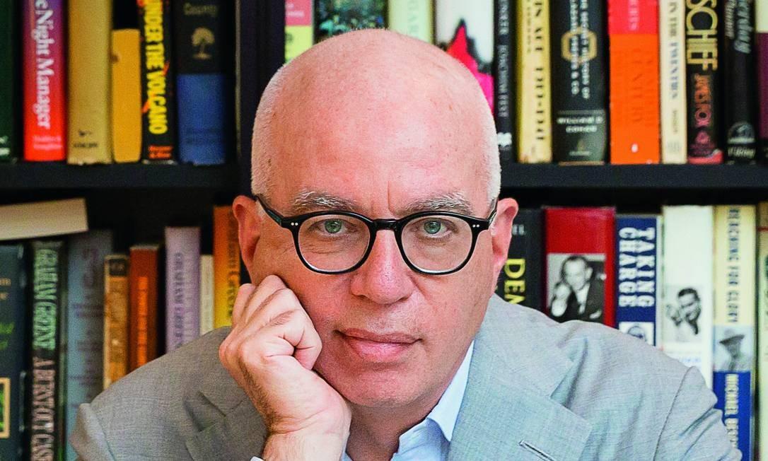 """Escritor Michael Wolff, autor de """"Fogo e Fúria"""" e """"O Cerco"""" Foto: Jen Harris / Divulgação"""