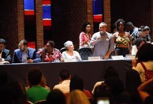Audiência sobre cotas raciais acaba em troca de socos entre deputado estadual Alexandre Knoploch (PSL) e estudantes Foto: Alerj