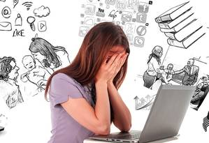 A síndrome de burnout é classicamente definida por exaustão emocional, desconexão e um senso de ineficácia Foto: Pixabay