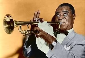 Louis Armstrong Foto: Arquivo