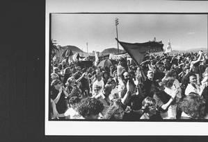 Manifestantes contra o presidente Fernando Collor Foto: H. John Maier Jr. / The LIFE Images Collection via Getty