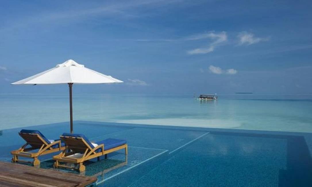 Rangali Island - Ilhas Maldivas Foto: Divulgação