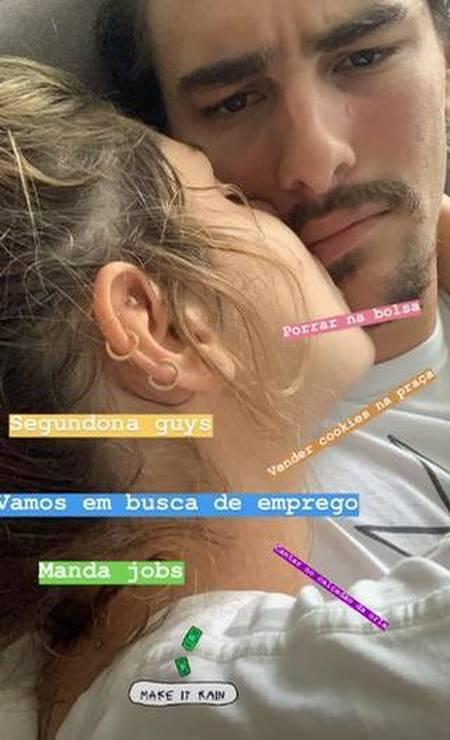 Bruno Montaleone: em busca de emprego Foto: Reprodução/ Instagram