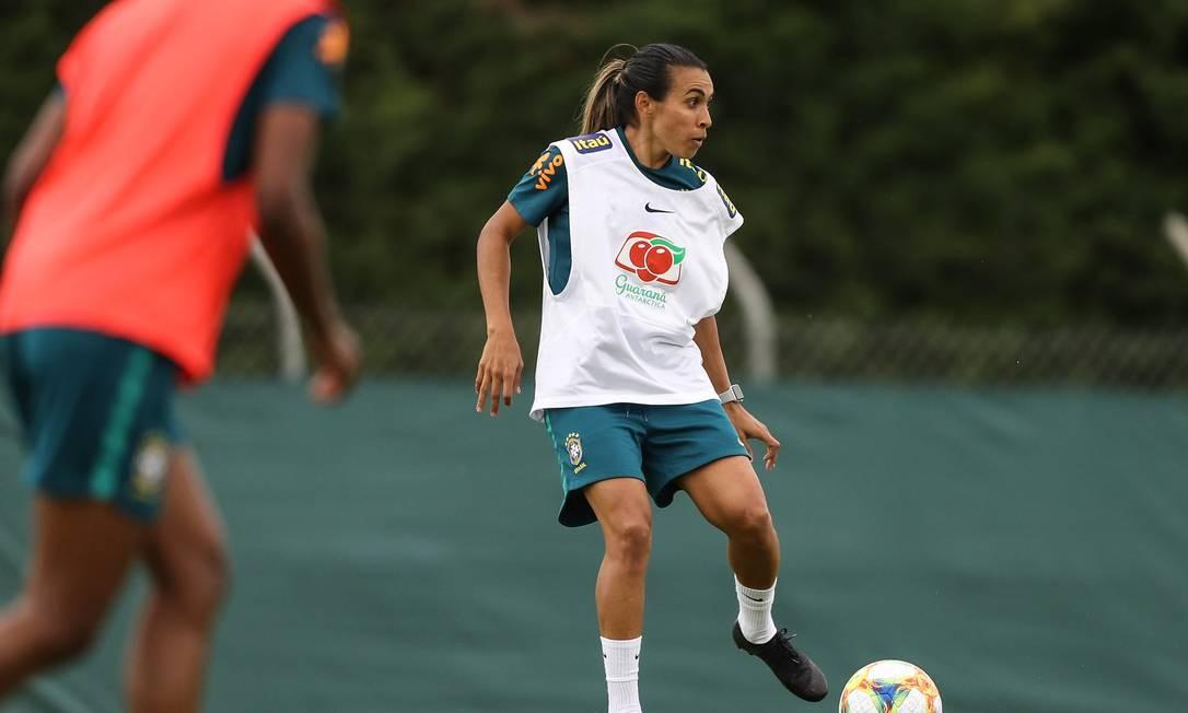Marta ainda é dúvida para jogo contra a Asutrália, pela fase de grupos Foto: Assessoria/CBF