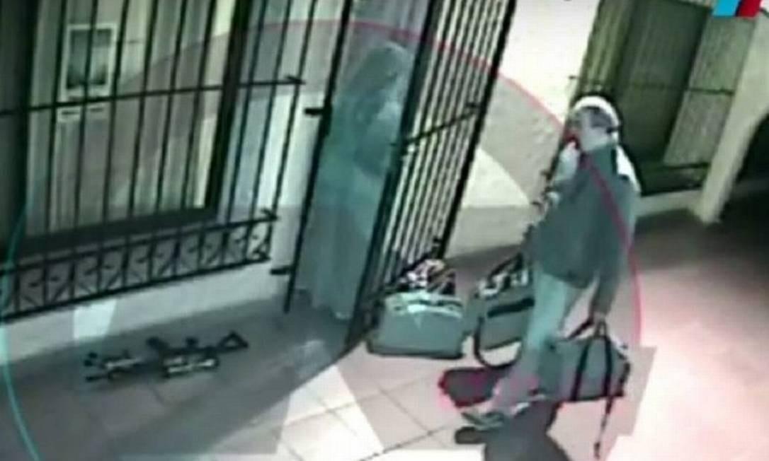 Vídeo mostra ex-vice-ministro José López com malas de dinheiro Foto: Reprodução