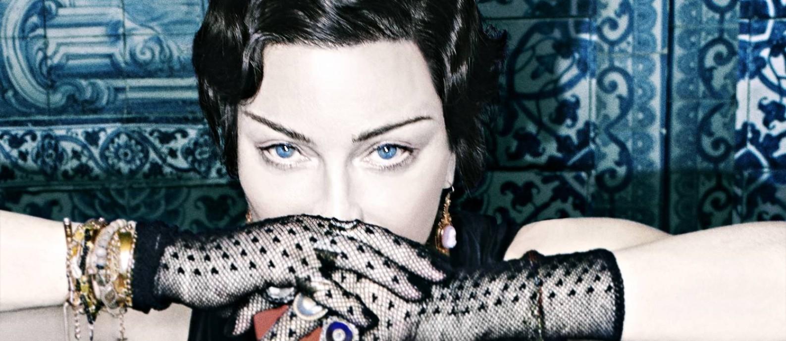 A cantora Madonna, que lança seu 14° álbum, 'Madame X' Foto: Divulgação