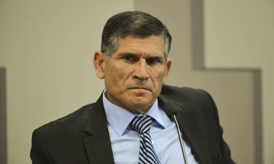 O ex-ministro da Secretaria de Governo da Presidência Carlos Alberto dos Santos Cruz Foto: Marcelo Camargo/Agência Brasil