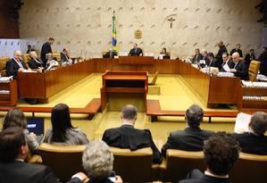 Por 8 votos a 3, STF decidiu que homofobia é crime equiparável ao racismo Foto: Agência O Globo