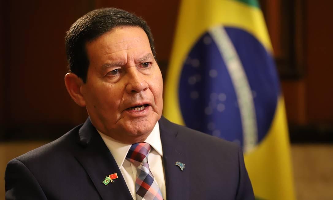 General Hamilton Mourão, vice-presidente da República Foto: Adnilton Farias / Vice-presidência da República
