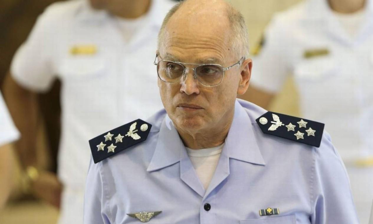 Tenente-brigadeiro do ar Antonio Carlos Moretti Bermudez, comandante da Aeronáutica Foto: Divulgação