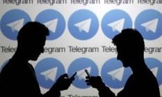 Telegram: ataque sobrecarrega servidores. Foto: DADO RUVIC / Reuters