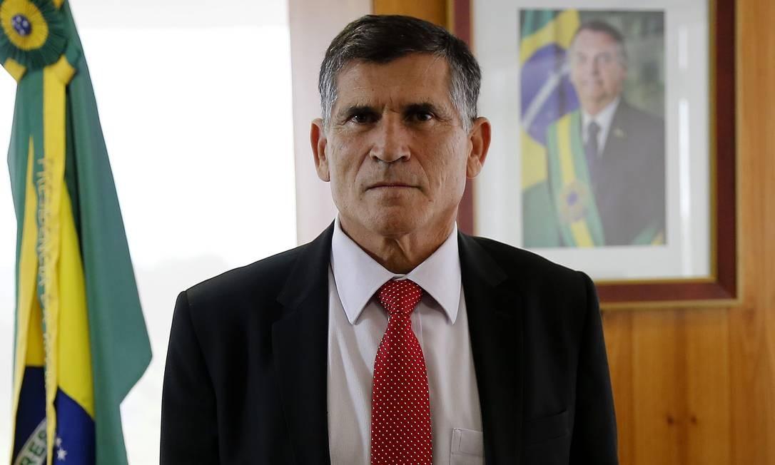 O ex-ministro da Secretaria de Governo Santos Cruz 23/05/2019 Foto: Jorge William / Agência O Globo
