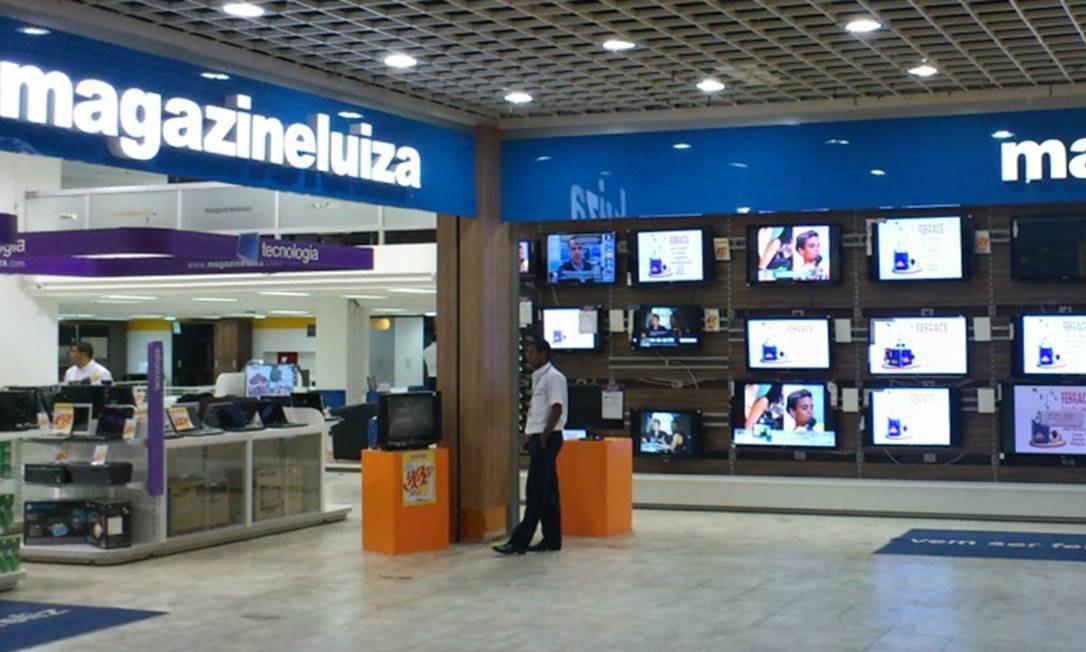 Todas as lojas físicas do Magazine Luiza estão fechadas desde o mês passado Foto: Reprodução