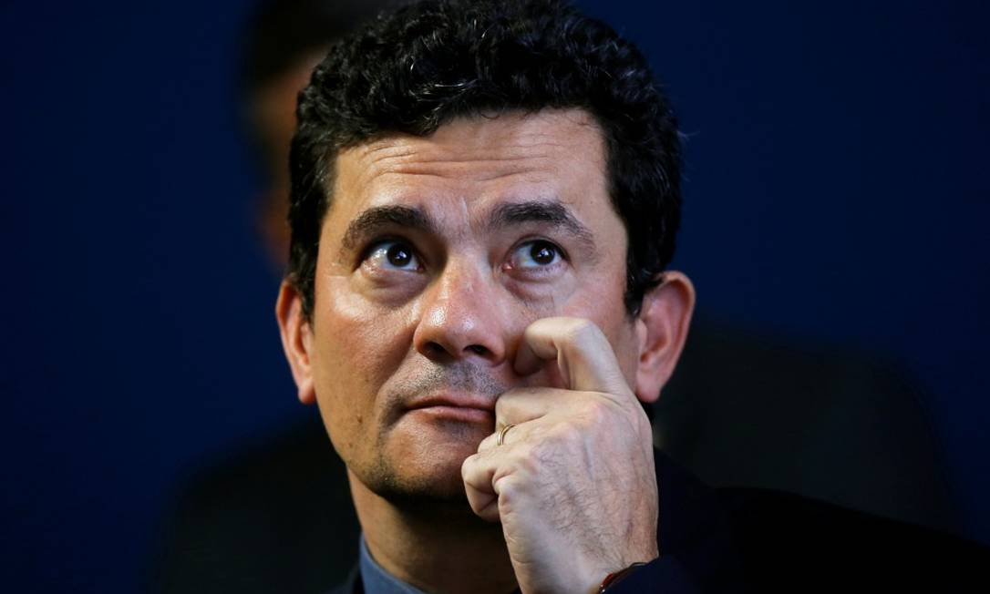 O ministro da Justiça, Sergio Moro Foto: ADRIANO MACHADO / REUTERS