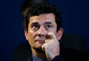 O ministro da Justiça e Segurança Pública, Sergio Moro Foto: Adriano Machado / Reuters