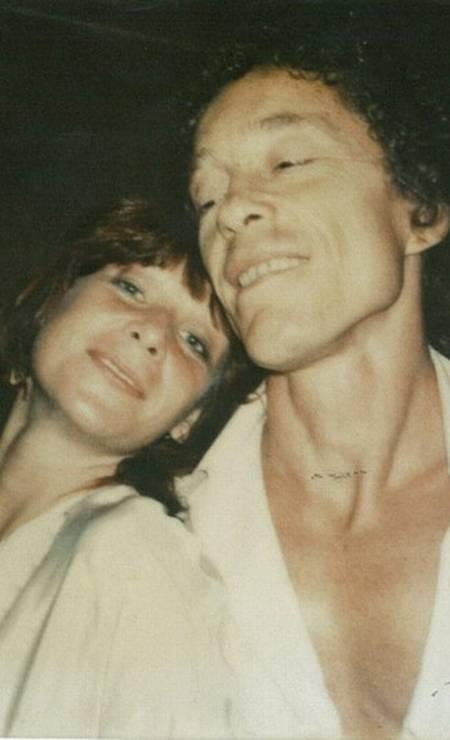 Midani com a cantora Rita Lee em uma foto de 1972 Foto: Infoglobo