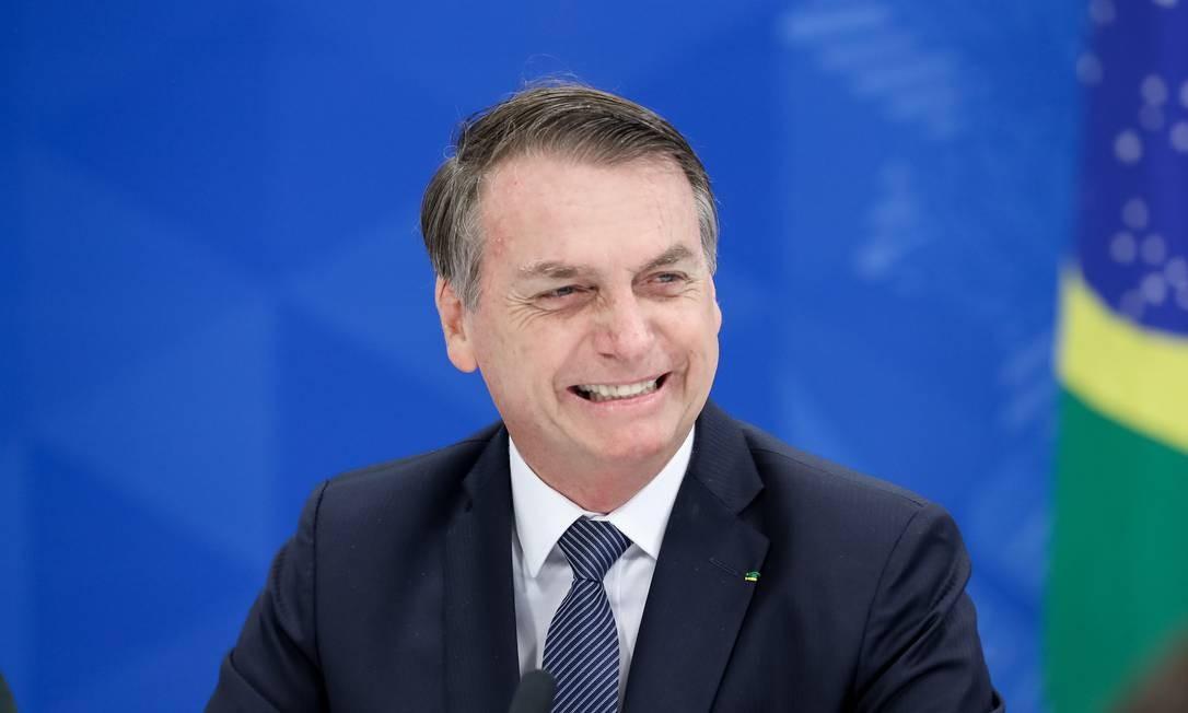 O Presidente Jair Bolsonaro anunciou que vai demitir o presidente dos Correios, Juarez Aparecido de Paula Cunha Foto: Marcos Corrêa / PR