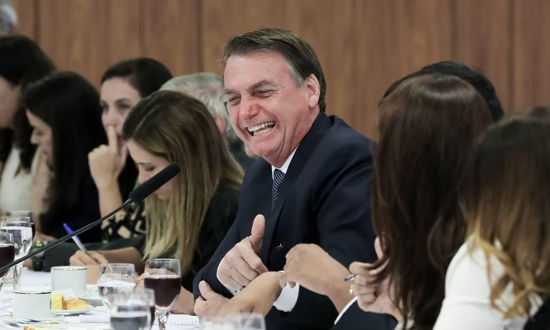 Ainda segundo o presidente, a demissão se deve à recente ida do presidente da estatal à Câmara dos Deputados, a convite de partidos da oposição Foto: Marcos Corrêa / PR