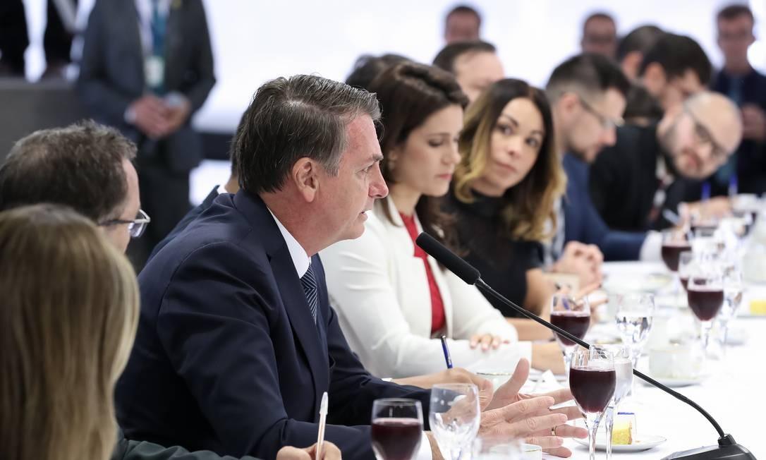 Jair Bolsonaro disse ainda que Juarez Aparecido de Paula Cunha se comportou como um sindicalista em sua ida à Câmara dos deputados Foto: Marcos Corrêa / PR