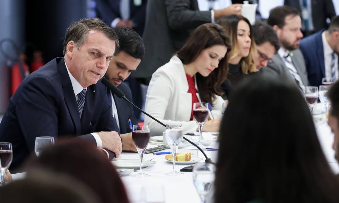 Bolsonaro disse que o fato de o general ter descartado a privatização dos Correios, já aventada publicamente pelo presidente, também pesou na decisão Foto: Marcos Corrêa / PR