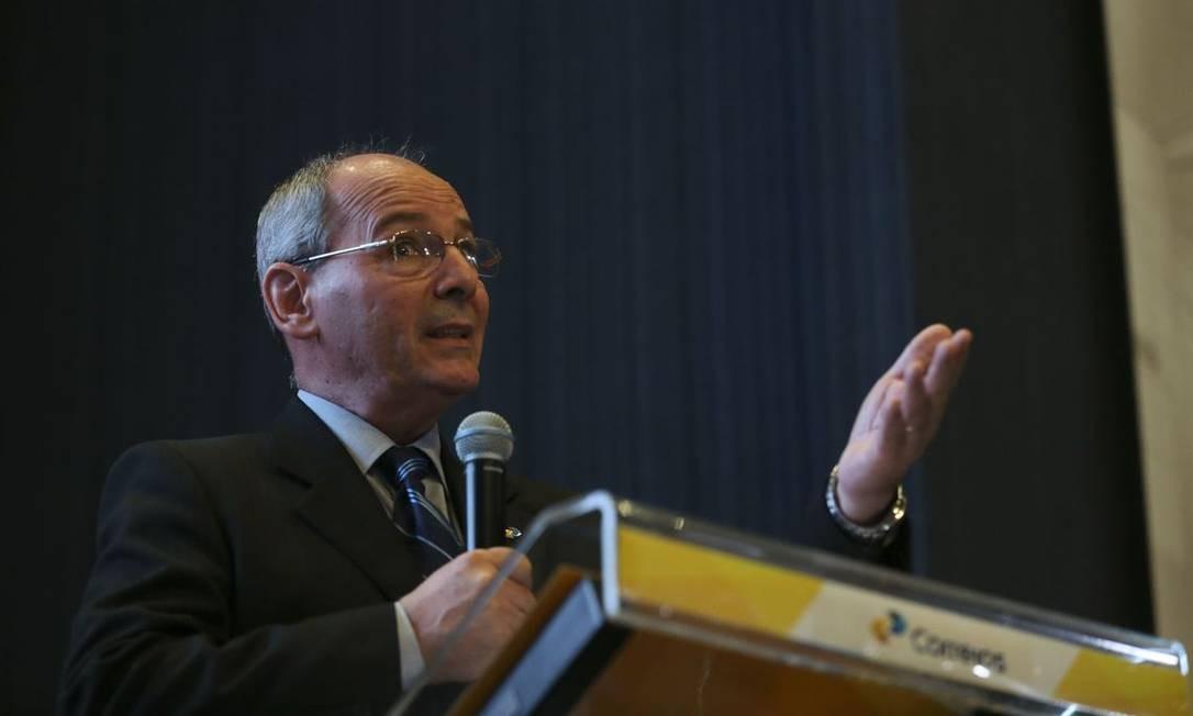 Cunha: 'Falta conhecimento sobre o trabalho espetacular' nos Correios Foto: José Cruz / Agência Brasil
