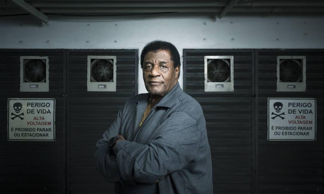 O cantor e ator Tony Tornado Foto: Leo Martins / Agência O Globo