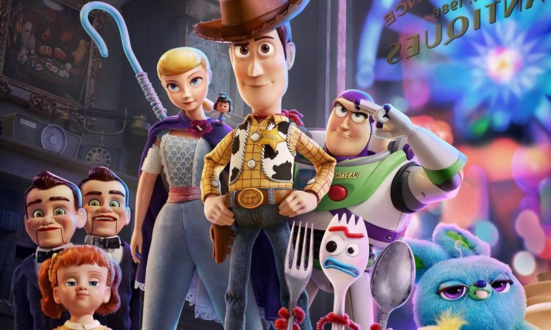 'Toy Story 4' estreia dia 20 de junho nos cinemas Foto: Divulgação