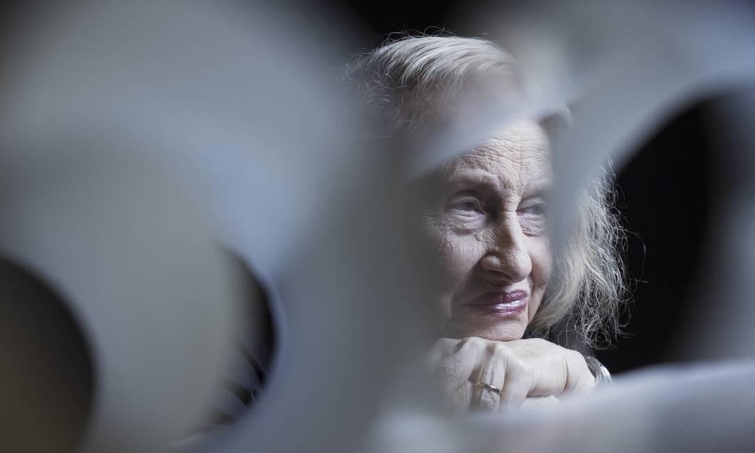 Anna Bella Geiger: livro em produção Foto: Leo Martins / Agência O Globo