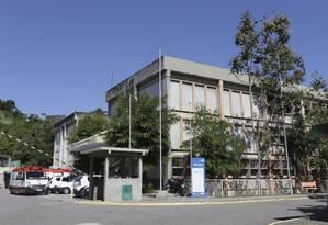 Saúde pública. A fachada do Hospital Municipal Carlos Tortelly, no Centro Foto: Roberto Moreyra / Roberto Moreyra