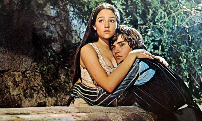 """""""Romeu e Julieta"""", de Franco Zeffirelli. Foto: Divulgação / O GLOBO"""